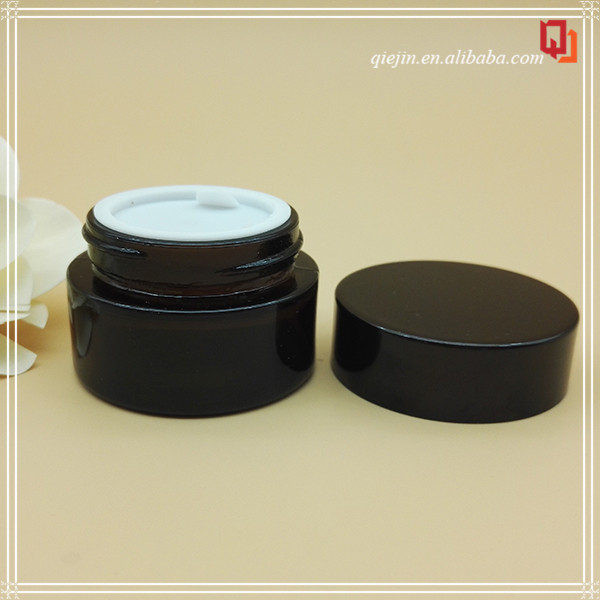 Cosmetic Glass Bottle And Jar/Empty Cosmetic Glass Bottle/1 Gallon Glass Jar Empty Square Face Cream Container With Sifter