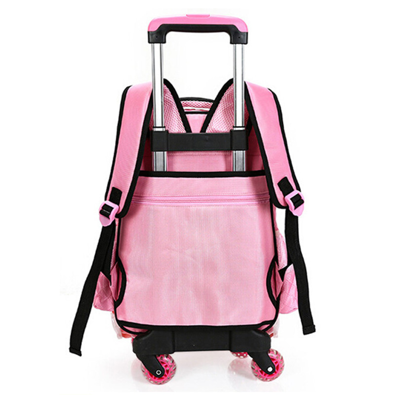 Best price very young models whole kids school backpacks school trolley bag with wheels