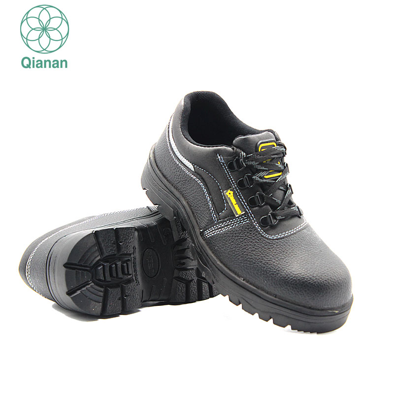 Industrial Safety Shoes Steel Toe Genuine Leather Shoes