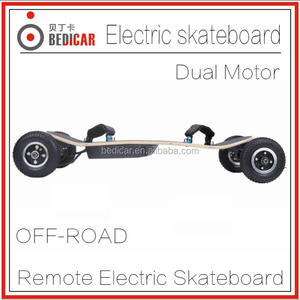 2017 1650W*2 power motor electric skateboard offroad