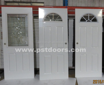 Galvanized Steel Door With 4 Panel,exterior Door Styles,used Exterior Doors  For Sale