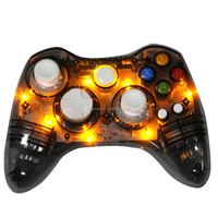 Transparent Gray Led Light Game Pad For Microsoft 360 Console ...