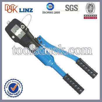 400sqmm Hydraulic Hand Wire Crimp / Cable Terminal Crimper / Cable ...