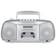 Wholesale portable USB music speaker classic radio cassette recorder player with build in speakers