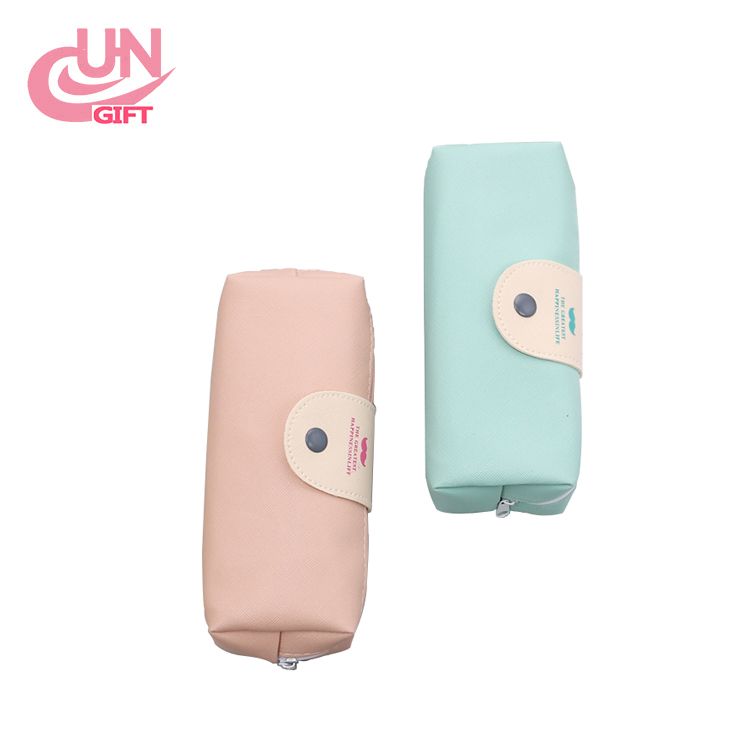 Pen Pencil Case Women Girl Pouch Stationery Pack Makeup Bag