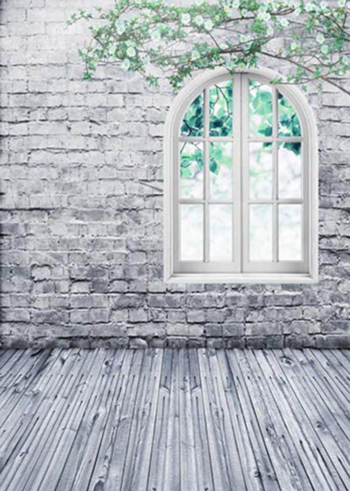 GladsBuy Old Brick Wall 6 x 9 Digital Printed Photography Backdrop Wall Theme Background YHB-071