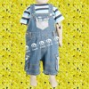 Latest New Arrive,2017 Summer boys Boutique Sets,T-shirt And Overalls
