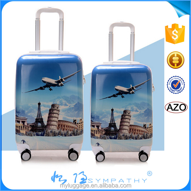 New Fashion Luggage Trolley Case/ABS+PC Luggage Trolley/Hard Travel Suitcase