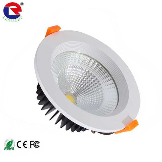 3.5inch led <strong>downlight</strong> 120mm COB <strong>downlight</strong> 10w 20w 30w 40w no glare 2 years warranty