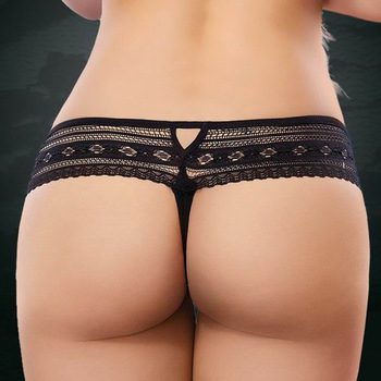 63802e6083 B31255A Sexy t-back panties transparent lace t-back G-String women thong