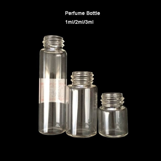 Price perfume sample customized small glass bottle