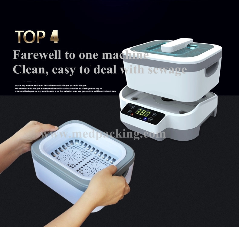 split ultrasonic cleaning machine cleaning glasses AU JP-1200 washing machine home Jewelry & Watch Cleaner