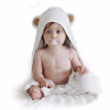 100% baby bamboo hooded towel soft and lovely Baby Bath Towel With Cute Bear Ear