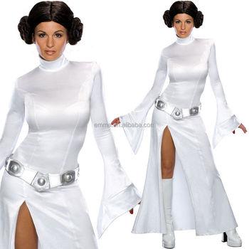 Erwachsene Sexy Prinzessin Leia Damen Kostüm Bwg17150 Buy