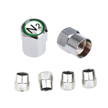 Car Dust Cover Auto Valve Stem Caps N2 Nitrogen Wheel Tyre Valve Cap