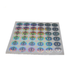 Custom Hologram Sticker Label,Make Your Own Original Authentic Hologram Security Sticker