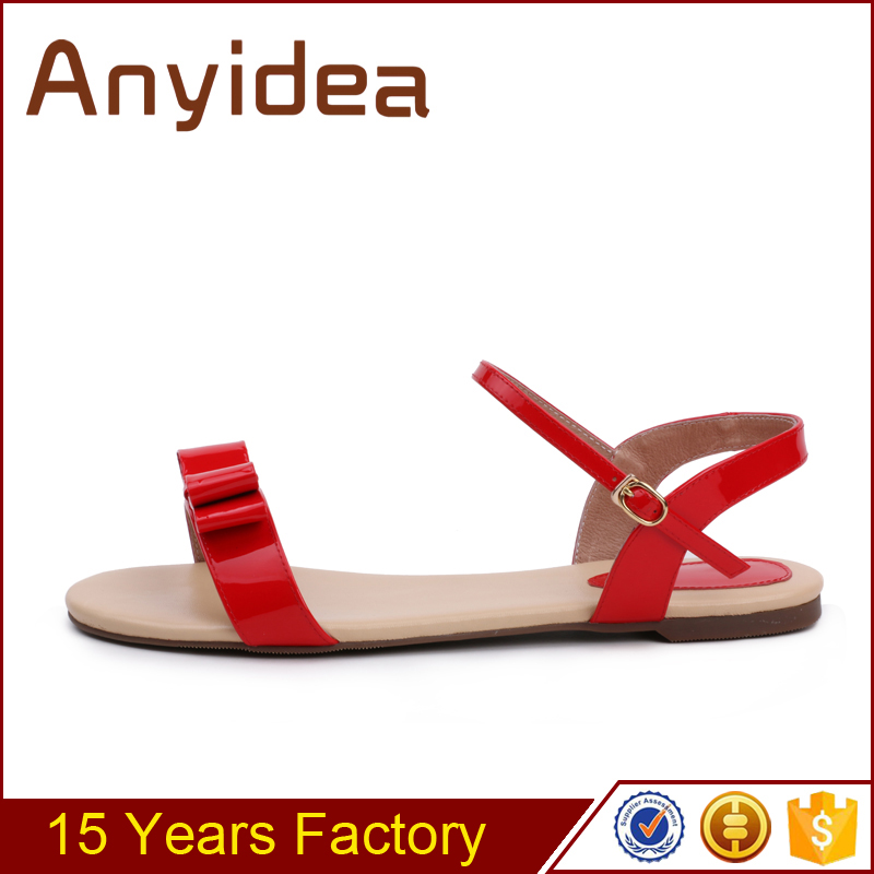 Cute girl sandals Fashion Design Summer casual shoes ladies flat bottomed sandals