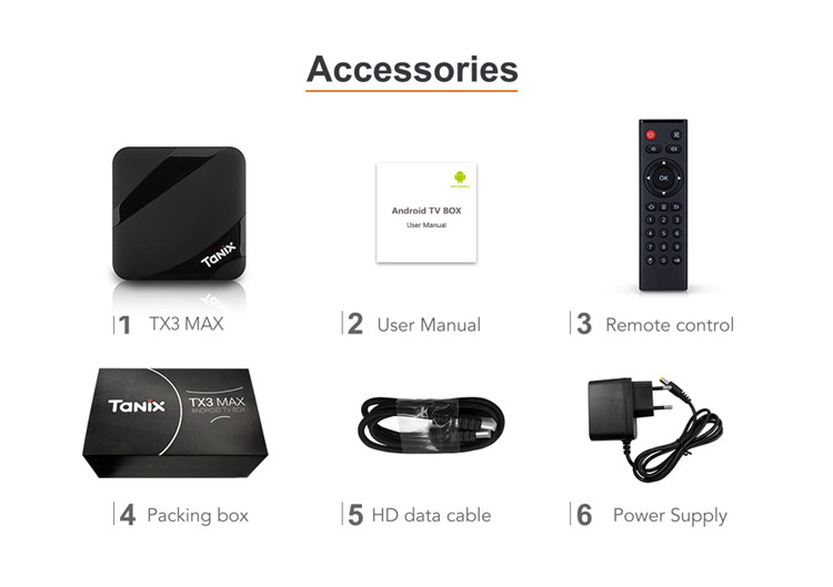android tv box tx3 max 2G 16G smart set top box with android 7.1 wireless 2.4G tv box