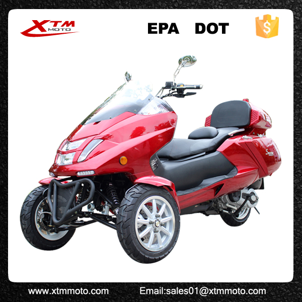 300cc 3 wheel trike gas scooter with epa dot buy trike gas scooter 300cc trike gas scooter. Black Bedroom Furniture Sets. Home Design Ideas