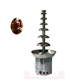 Commercial 6 tier hot chocolate drink fountain dispenser
