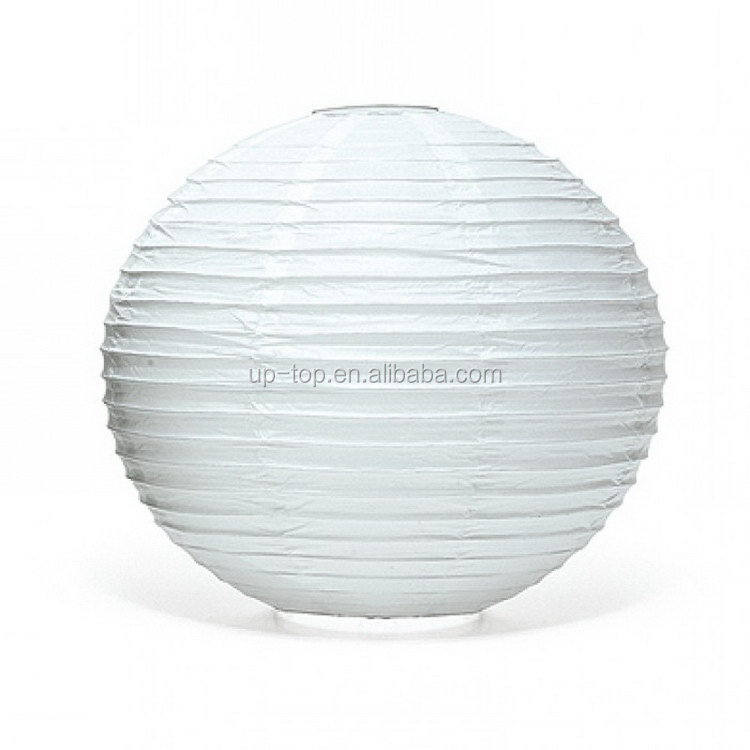 Factory direct cheap hot price outdoor white chinese paper lanterns