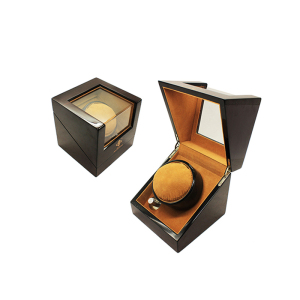 High Glossly Paint Wooden Automatic Watch Winder Safe Box