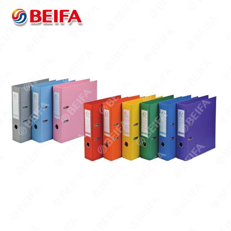 beifa design a4 lever arch hanging file folder with flap,paper file folder manufacturer,plastic file folder