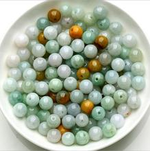 Natural stone Beads jade stone Beads 4mm-10mm NOT Dyed Smooth Polished Round jade stone