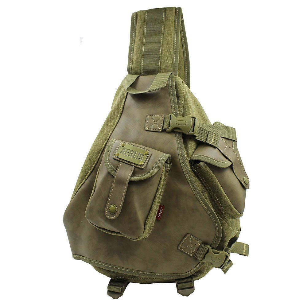 fdc94ed92755 Get Quotations · Lanica One Strap Sling Cross Body Shoulder Backpack Travel  Rucksack