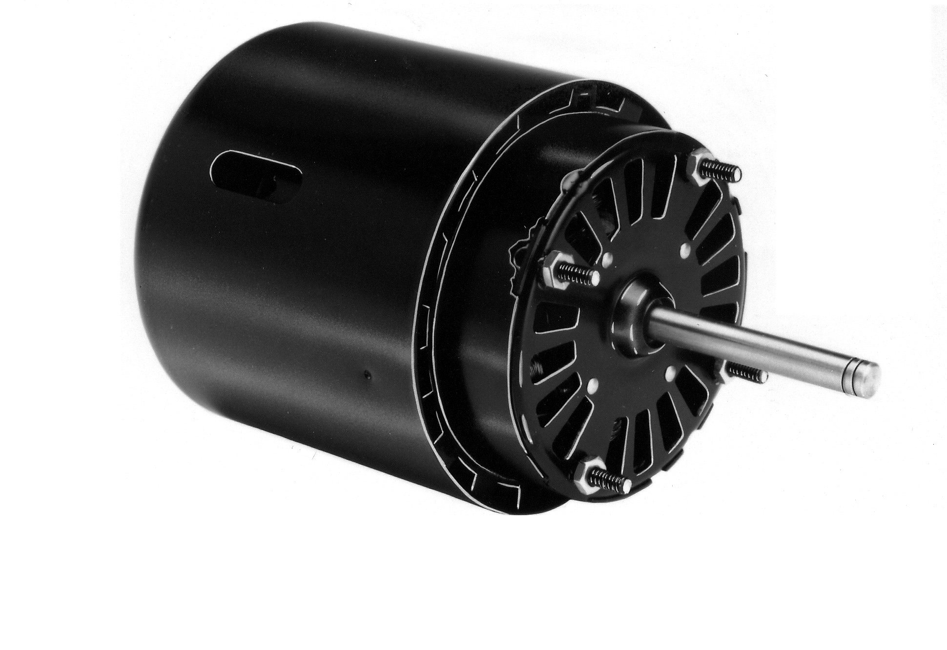 """Fasco D475 3.3"""" Frame Open Ventilated Shaded Pole Refrigeration Fan Motor withSleeve Bearing, 1/15HP, 1550rpm, 460V, 60Hz, 0.5 amps"""