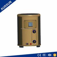 Round Design Plastic Pool Heater, high efficient R410a air source heat pump