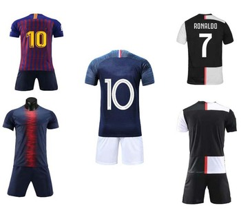 Thai quality 2019 2020 custom sublimation print soccer jersey