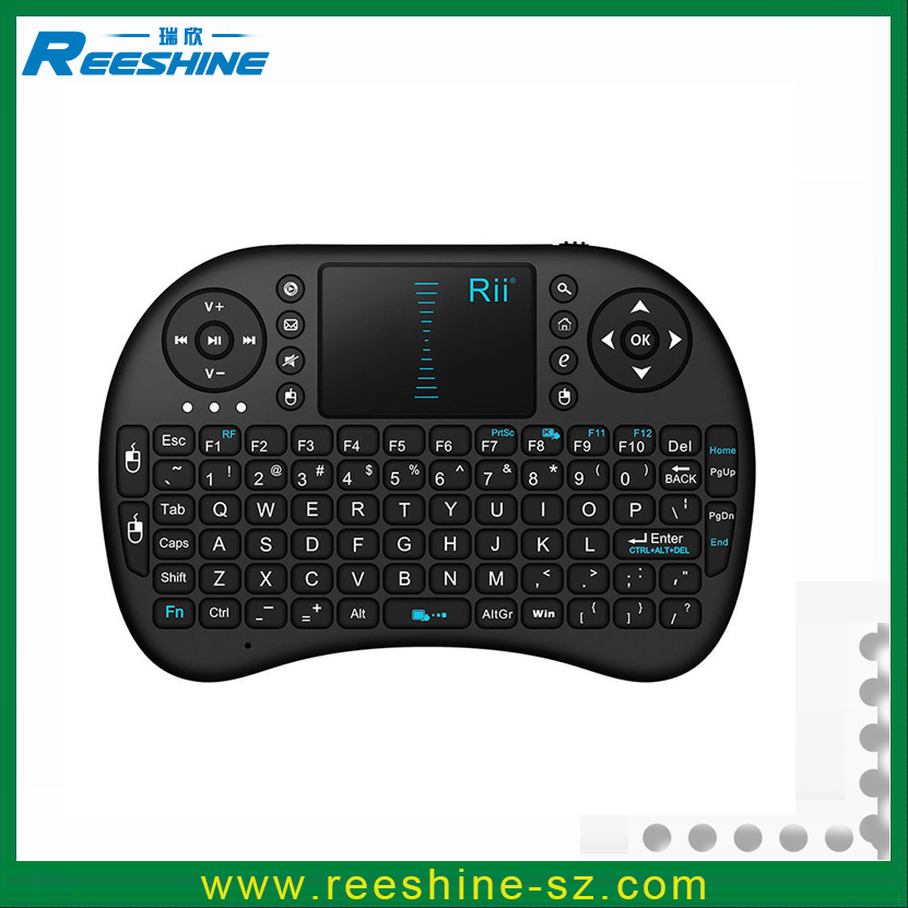 original rii 2.4G i8 universal remote qwerty laptop keyboard