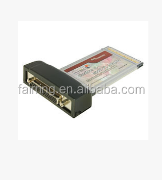 PCMCIA series notebook card + serial port parallel port card card
