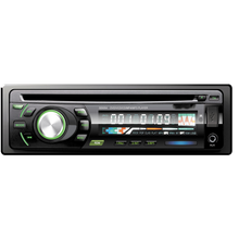 Din Carro 1 DVD5208 Player, Painel Frontal Fixo Carro AM FM CD DVD Player Suporte USB SD AUX OEM