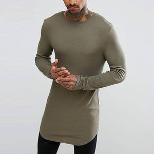 bangladesh clothing long sleeve super longline t shirt wholesale china