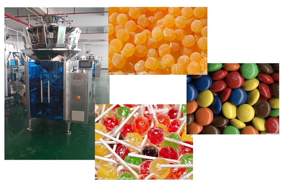 CE approval high speed weighing and packing machine for candy/confectionery/lollipop(Model:WP-MC421016)