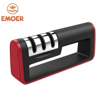 Kitchen Handheld knife sharpener for Straight and Serrated Knives detachable knife sharpener