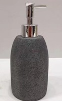 Resin Sandstone Bathroom Set Soap Dispenser Lotion Pump