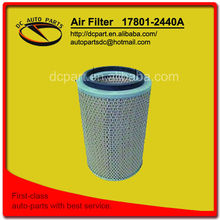 air filter for 17801-2440A HINO for ISUZU for TOYOTA