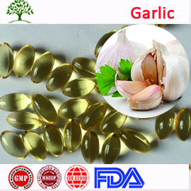 100% Natural Halal Ordorless Black Seed Garlic Hair Oil Soft Capsule