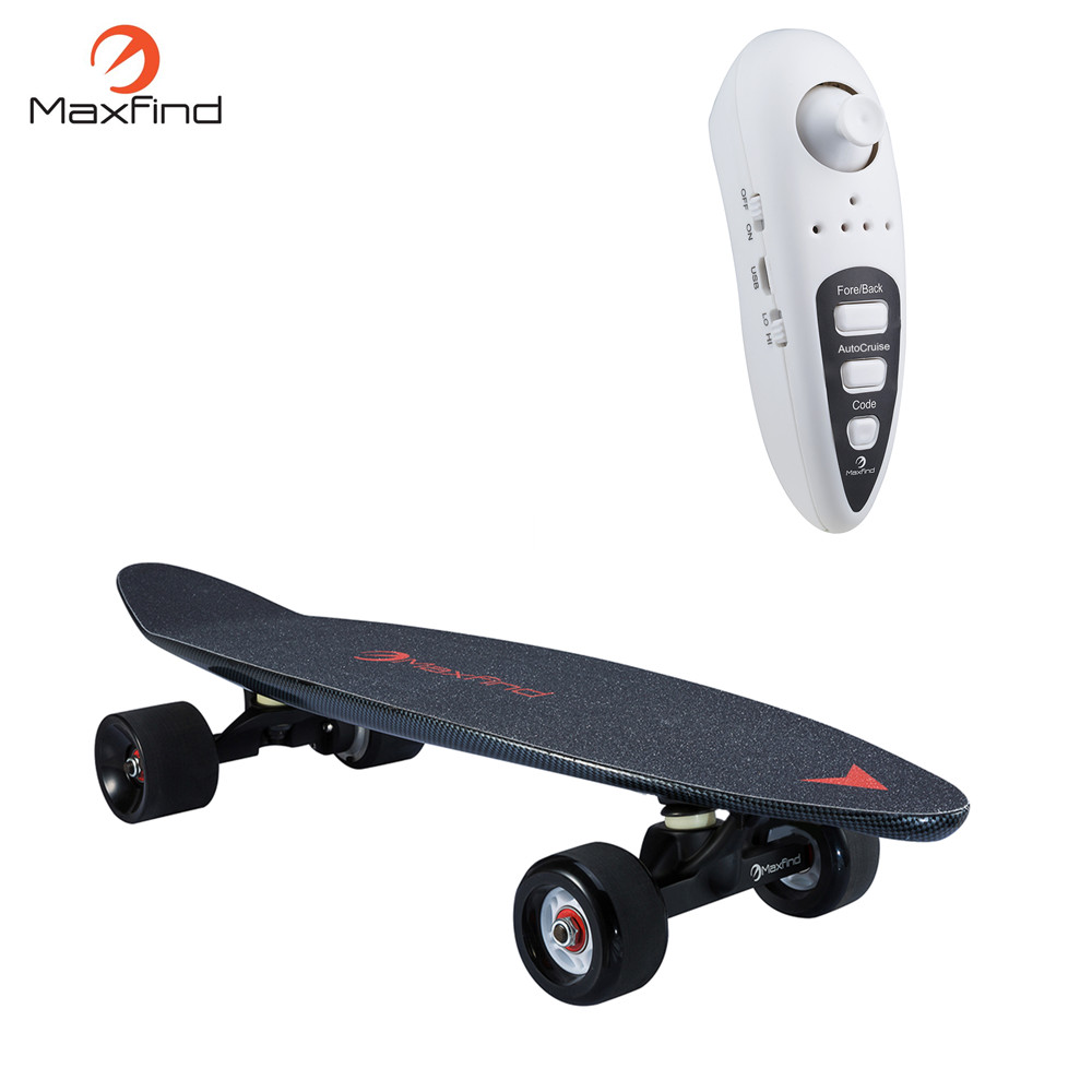 Maxfind cheap wholesale hub motor boosted electric skateboard