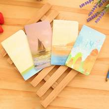 Новинка, Милая Мини-тетрадь для дневника с бумажной подкладкой, винтажная ретро-книга-блокнот(Китай)