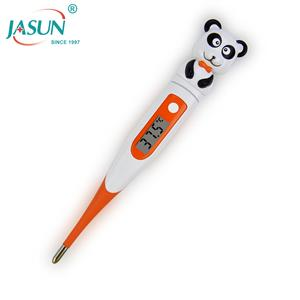 For Kids Celsius Mode with LCD Best Soft Flexible animal Baby Digital Thermometer