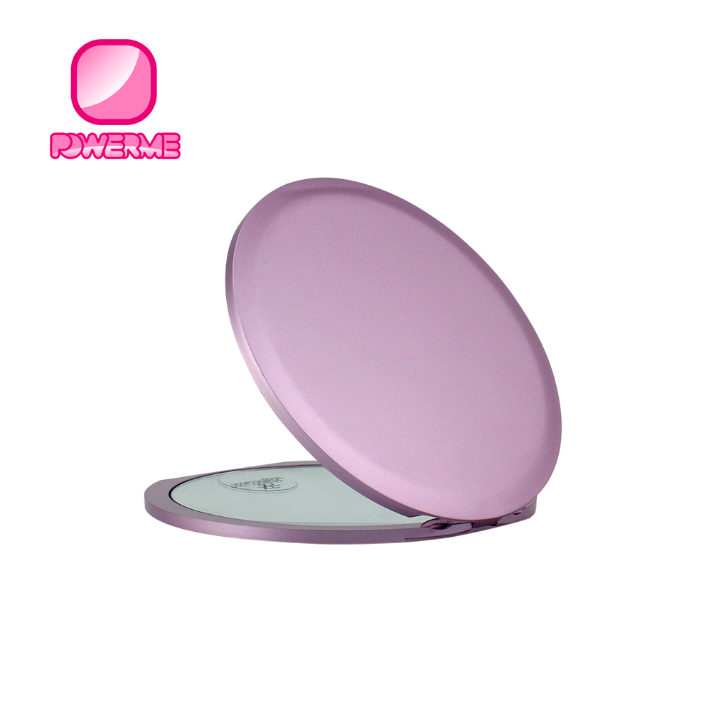 China Factory Plastic Small Makeup Mirror, 5x Magnifying Cosmetic Mirror, Custom Round Flexible Cheap Pocket Mirror, Any color as customer requested