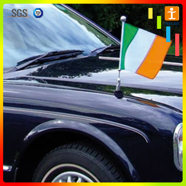 Hand held plastic flags Car Flying Banner
