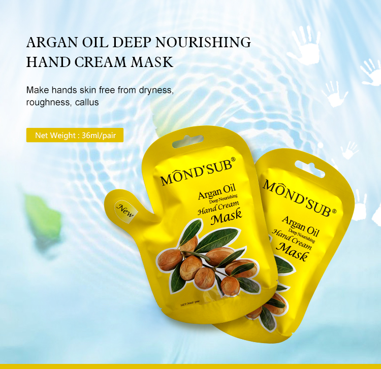 Best Selling Cosmetic Coconut Oil Mask From Guangzhou Foot Care Cosmetics