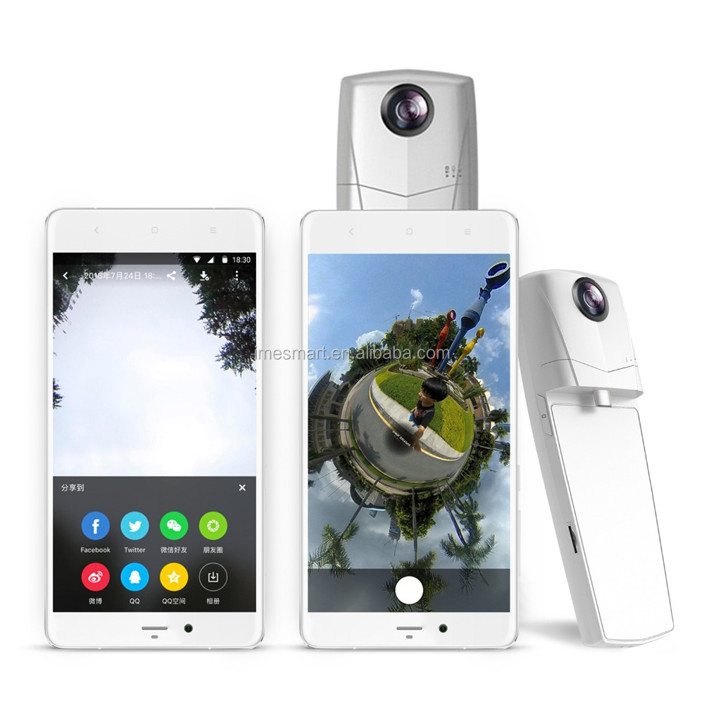Genuine Original Dual Lenses 360 Panoramic camera 3K Video HD VR Camera for smartphone