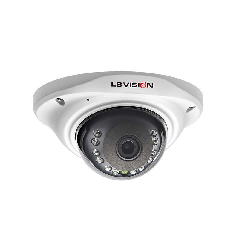 LS VISION 4MP 3.6mm Fixed Lens Outdoor Dome Camera High Resolution