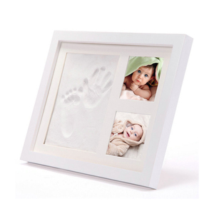 Personalized wooden newborn baby photo frame